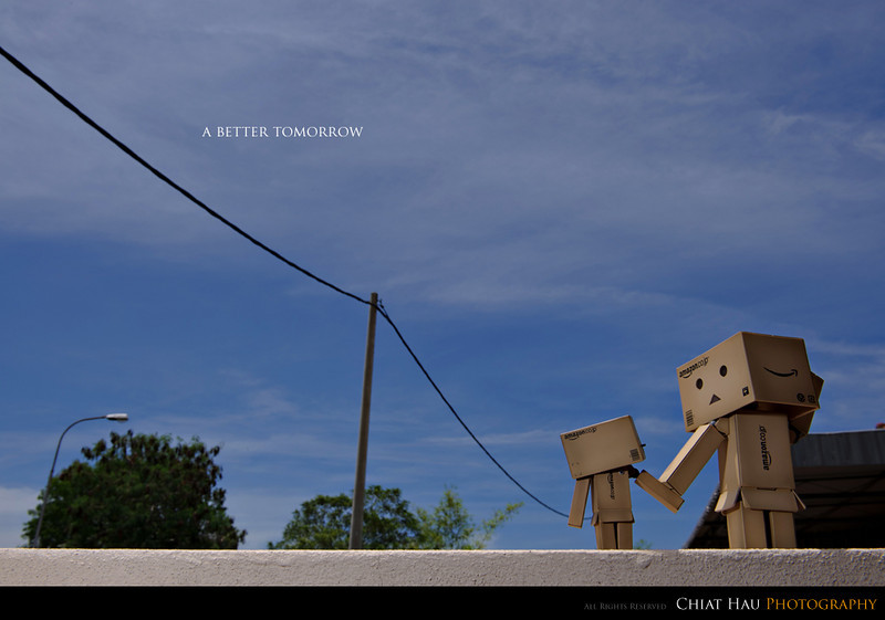Product Photography by Chiat Hau Photography (Danbo - A Better Tomorrow)
