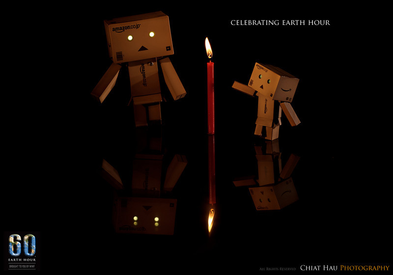 Product Photography by Chiat Hau Photography (Danbo - Earth Hour)