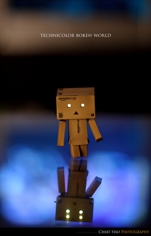 Product Photography by Chiat Hau Photography (Danbo - Technicolor Bokeh World)