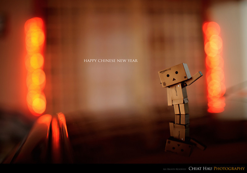 Product Photography by Chiat Hau Photography (Danbo - Happy Chinese New Year)