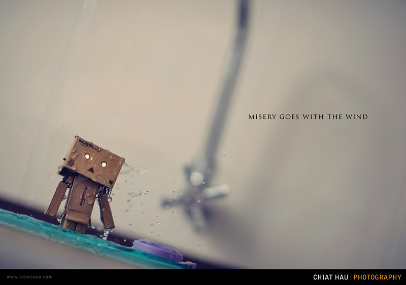 Toys Photography by Chiat Hau Photography (Danbo - Misery Goes with the Wind)