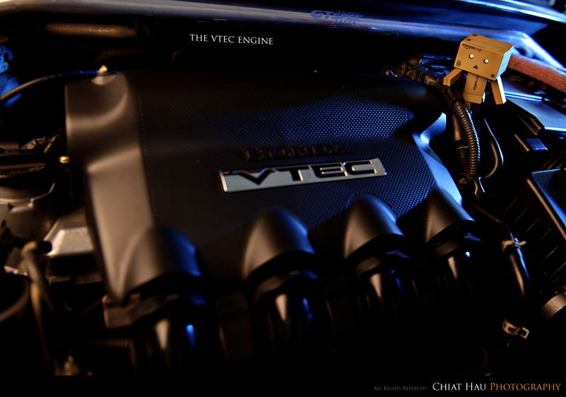 Product Toy Photography by Chiat Hau Photography (Danbo - L15A VTEC Engine)