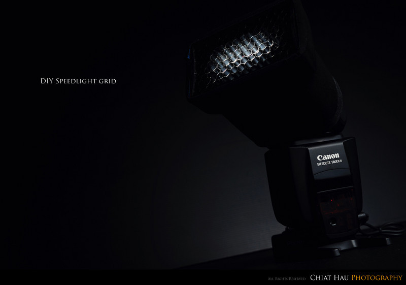 Product Photography by Chiat Hau Photography (DIY Speedlight Grid)