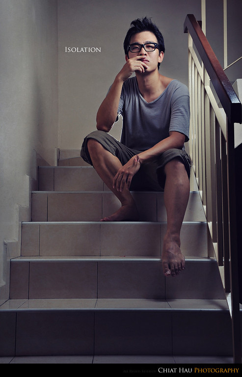 Portraiture  Photography by Chiat Hau Photography (Isolation)
