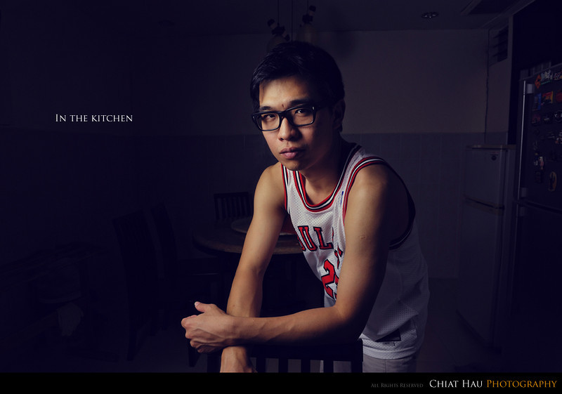 Portraiture  Photography by Chiat Hau Photography (Self Portrait)