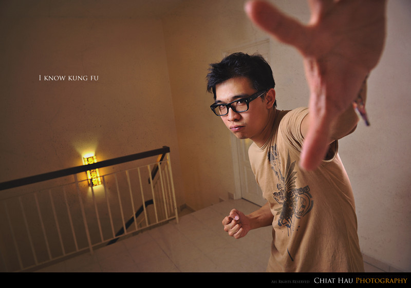 Portraiture  Photography by Chiat Hau Photography (I Know Kung Fu)