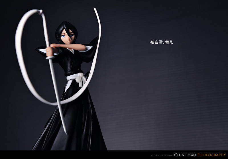 Product Photography by Chiat Hau Photography (Bleach - Rukia Kuchiki)