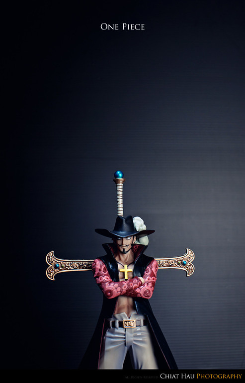 Product Photography by Chiat Hau Photography (One Piece - Juracule Mihawk)