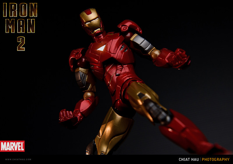 Product Photography by Chiat Hau Photography (Revoltech Iron Man Mark Vi)