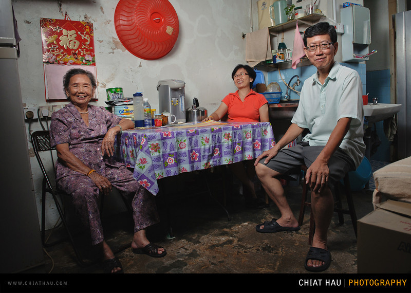 Portrait Photography by Chiat Hau Photography (Armenian Street Penang . Five Families)