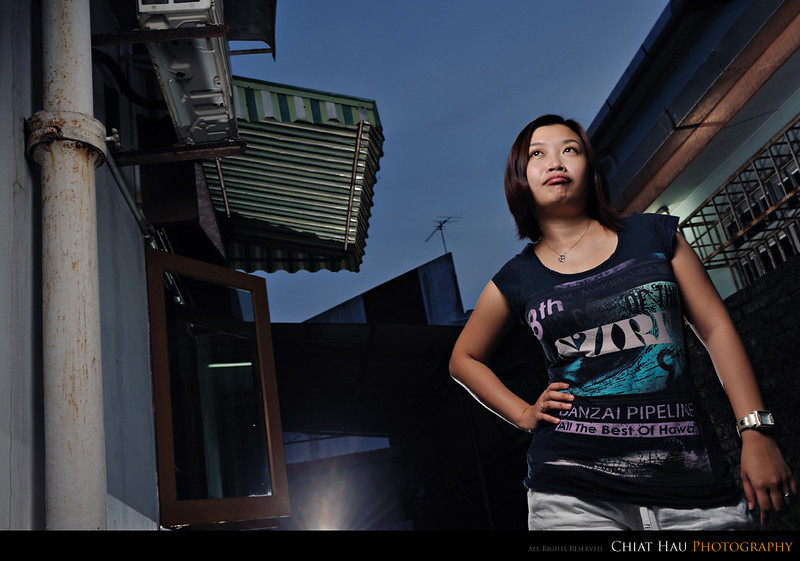 Portraiture  Photography by Chiat Hau Photography (Before Losing Interest)
