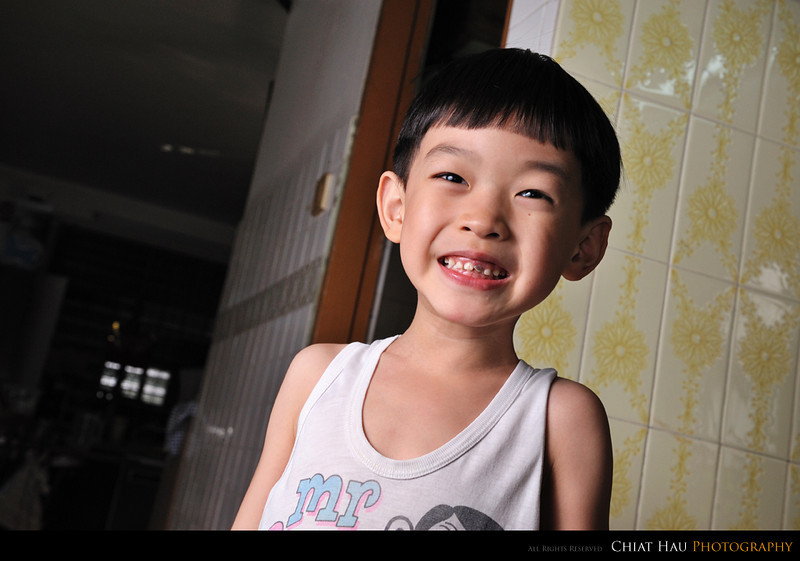 Portraiture  Photography by Chiat Hau Photography (Brother Kid)