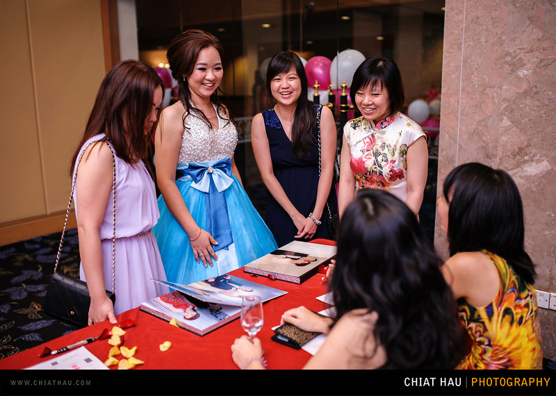 Actual Day Wedding Photography by Chiat Hau Photography (Ching-Wei and Ai Choo Actual Day Wedding Reception Session)