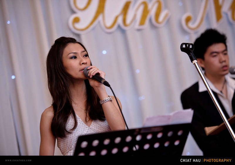 Wedding Photography by Chiat Hau Photography (James + Xin Ning Wedding Dinner at Eastin Hotel)