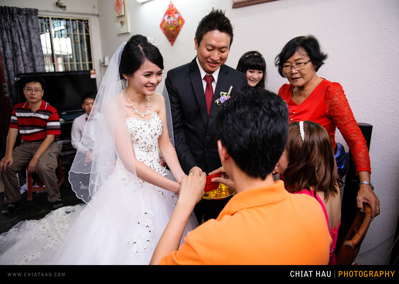 Actual Day Wedding Photography by Chiat Hau Photography (Kee Woon + Yu Tin Actual Day Wedding Morning Session)