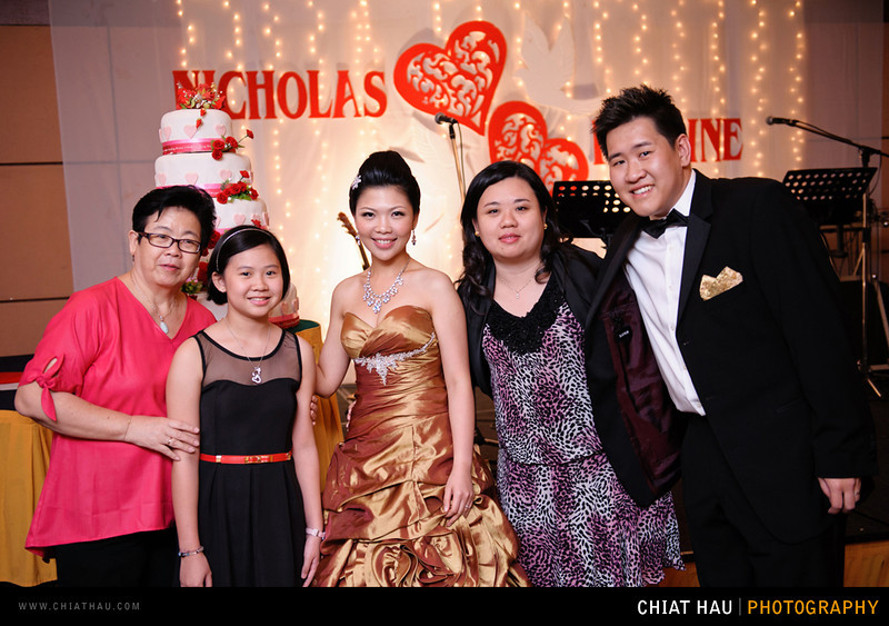 Wedding Photography by Chiat Hau Photography (Pauline and Nicholas Actual Day Wedding Evening Session)