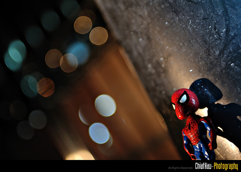 Toys Photography by Chiat Hau Photography (Spider Man)