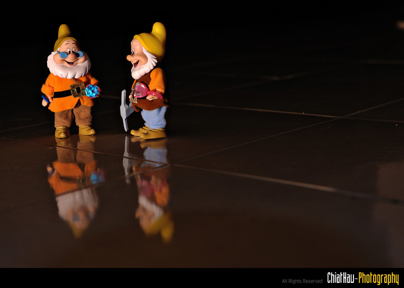 Toys Photography by Chiat Hau Photography (7 Dwarfs)