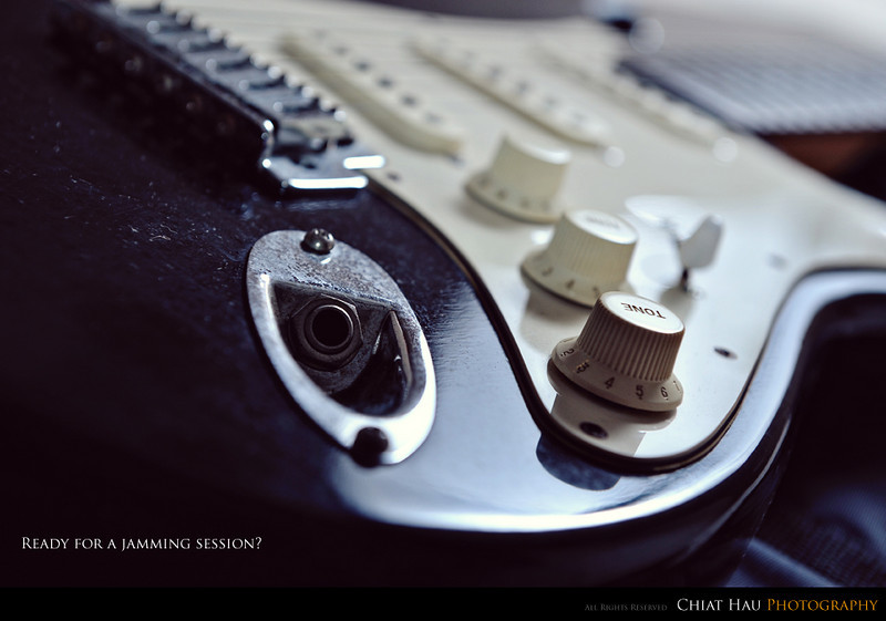 Abstract Photography by Chiat Hau Photography (Electric Guitar)
