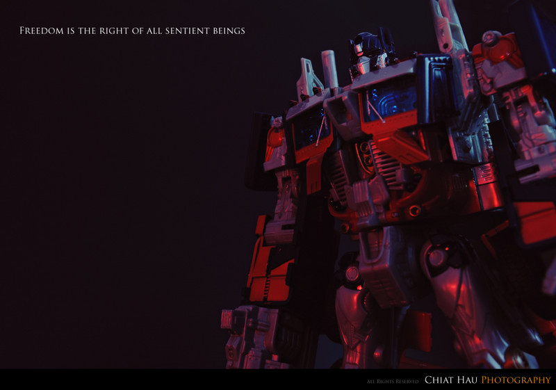 Toy Photography by Chiat Hau Photography (Optimus Prime)
