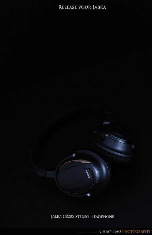 Product Photography by Chiat Hau Photography (Jabra C820S Stereo Headphone)