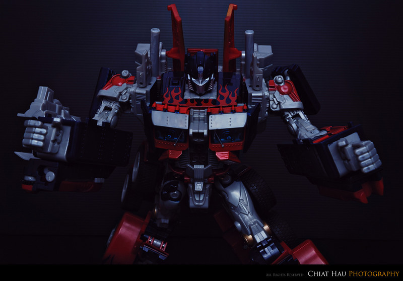 Toys Photography by Chiat Hau Photography (Optimus Prime)