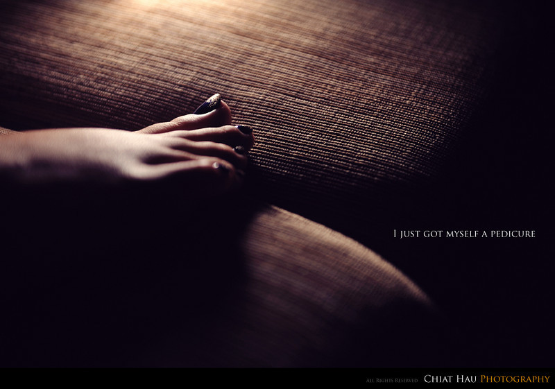 Photography by Chiat Hau Photography (Pedicure)