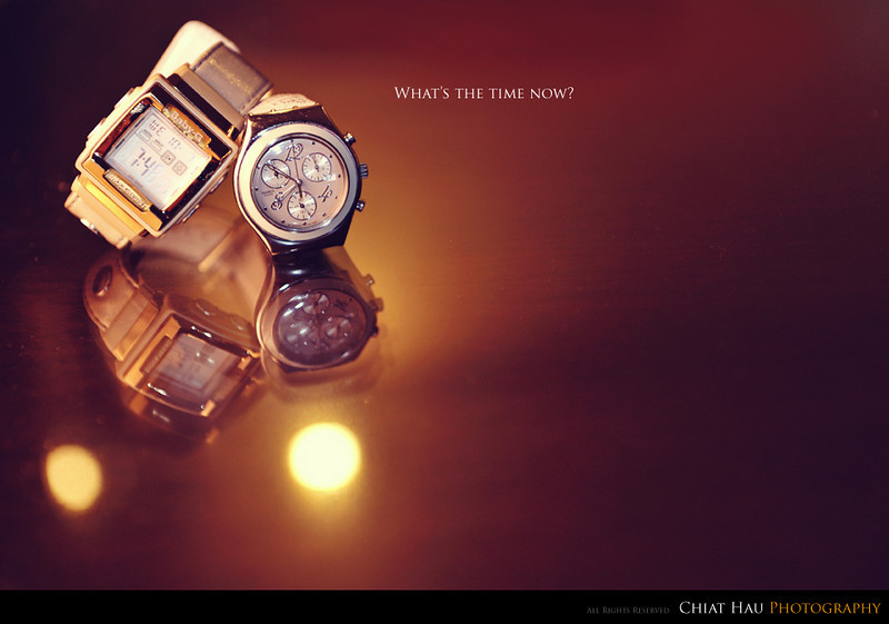Product Photography by Chiat Hau Photography (Baby-G Swatch Watch)